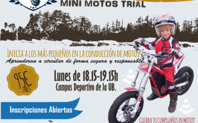 CURSO DE MINI MOTOS TRIAL